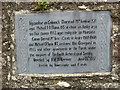 Plaque at The Jumping Church, Kildemock