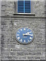The clock on St. Bride's Church of Ireland, Oldcastle