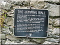 Plaque on The Jumping Church, Kildemock
