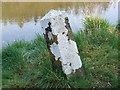 Milestone on Boyne Navigation Canal