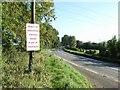Protest sign at Dunmoe, near Navan, Co. Meath