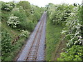 Drogheda to Navan single-track line