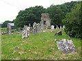 Church and graveyard at Meadstown, Co. Meath