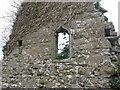 West window on church at Meadstown, Co. Meath