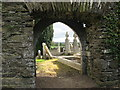 Doorway, Ardcath Church, Co. Meath
