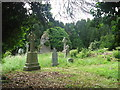 Church and graveyard at Tullaghanoge, Co. Meath