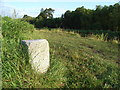 Milestone on the Royal Canal at Oldtown, Co. Meath