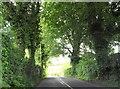 The R164 south of the Kilmainham River bridge