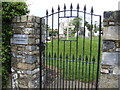 Cemetery gate, Knockcommon