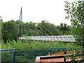 Bridge across the Boyne at the Newgrange Interpretation Centre