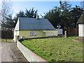 Poet's house and wayside cross, Sarsfieldstown