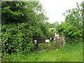 Farm gate at Cruicerath, Co. Meath