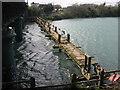 Demolition of Laytown footbridge