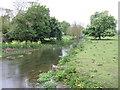River Nanny at Beaumont Bridge - upstream
